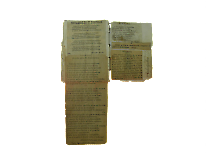 páginas 115 y 116. Libro de pensamientos