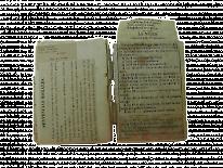páginas 99 y 100. Libro de pensamientos